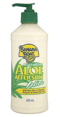 Banana Boat Aloe After Sun - Loción Hidratante AfterSun con Aloe Vera y Vitamina E, 470 ml