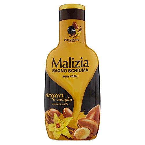 Malizia - Bagno Schiuma, Argan e Vaniglia - 1000 ml