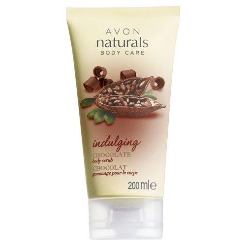 Avon Naturals Indulging Body Scrub, Cioccolato 200 ml