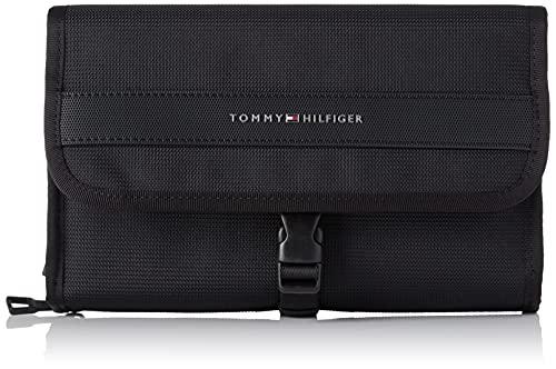 Tommy Hilfiger Elevated Nylon Travel WASHBAG, Altro SLG Uomo, Nero, Medium