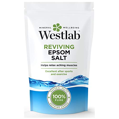 Westlab Reviving Epsom - Sale di Epsom in sacchetto verticale richiudibile, 1 kg