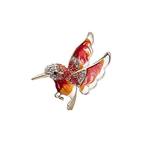 Fashion Bird Spilla Simpatico Animale Spilla Donna Uomo Smalto In Metallo Fascino Sciarpa Primaverile Accessori per Giacca Regali per Ragazzi