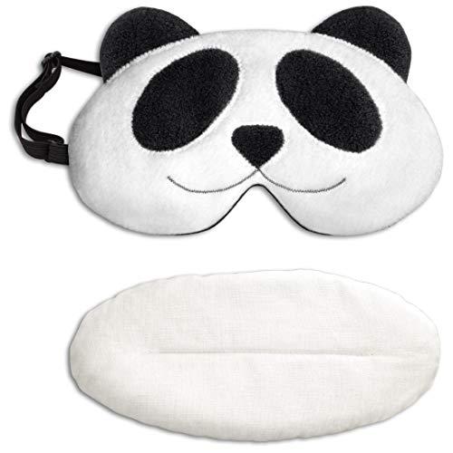 Leschi   Maschera da notte (per riscaldare e raffreddare)   36903   Il panda Lien   Colore: Mezzanotte/Mezzanotte