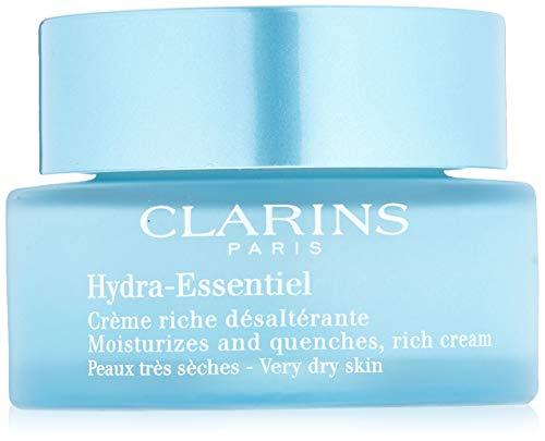 Clarins Hydra Essentiel Ricca Crema Desalterante, Tutti i Tipi di Pelle - 50 ml