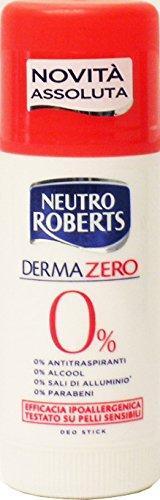 12 x NEUTRO ROBERTS Deo Persona Stick Classico Alcool Dermazero 40 ML