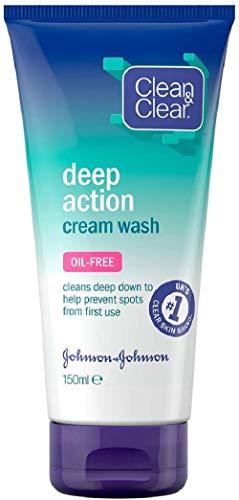 Detergente per crema ad azione profonda e pulita.
