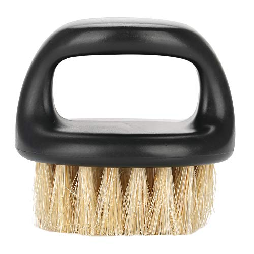 Spazzola per barba per uomo Baffi per toelettatura Styling Cura della barba Strumento per barba con manico liscio(#3)