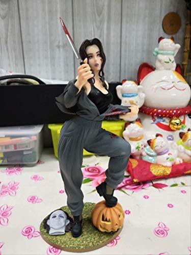 bolin Versione Femminile da 21 Cm di Michael Myers Beauty Girl Action Figure Statua PVC Modello Giocattolo Regalo Fatto A Mano