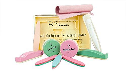 P-SHINE Kit per manicure giapponese professionale per la cura delle unghie + istruzioni per danneggiare le unghie