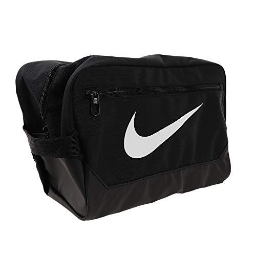 Nike Brasilia 6 Borsa per Scarpe, NeroBianco, Taglia Unica