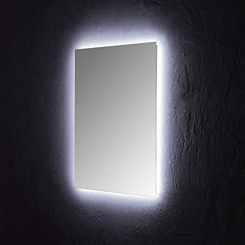 SPECCHIO BAGNO 60x80 CM CON ILLUMINAZIONE PERIMETRALE A LED