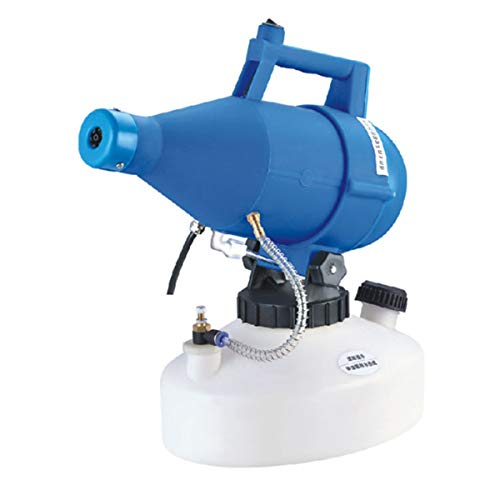 KKmoon Nebulizzatore elettrico ULV Atomizzatore portatile a volume ultra-basso Nebulizzatore per pesticidi Nebulizzatore 4.5L