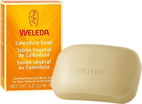 Sapone Vegetale alla Calendula, per Adulti e Bambini - Weleda - 100 g