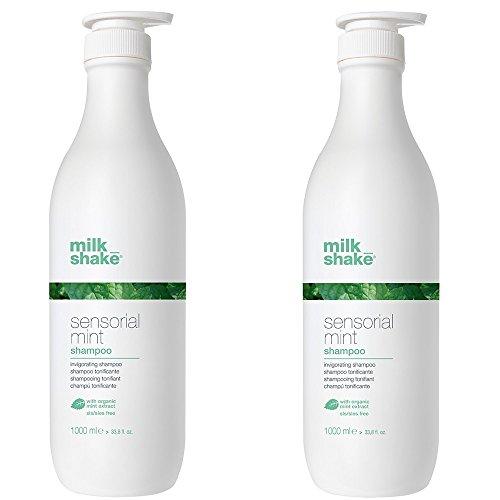 Milk shake sensorial mint shampoo DUO PACK 2 x 1000 ml shampoo tonificante per lavaggi frequenti 2000ml PROMOZIONE SPEDIZIONE GRATUITA