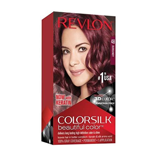 Revlon Colorsilk Tinte,48-Borgoña - 60 Ml