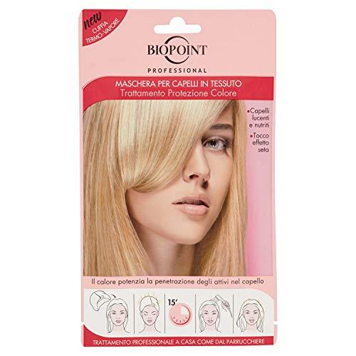 Biopoint Maschera per capelli in Tessuto Trattamento Protezione Colore - 35 ml.