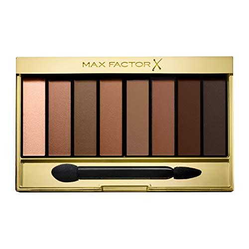 Max Factor Nude Eyeshadow Palette, 8 Ombretti Modulabili a Lunga Durata, Sand