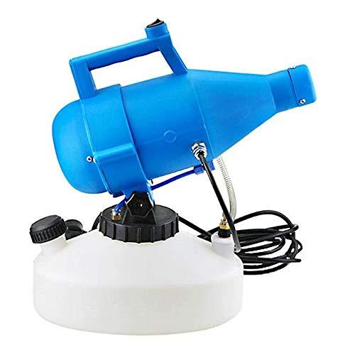 TOPQSC 4.5L Spruzzatore ULV Elettrico Nebulizzatore Portatile Disinfezione Sterilizzazione Industriale Nebulizzatore Nebulizzatore per Interno/Esterno Ospedali Giardino Hotel Scuola Fabbrica