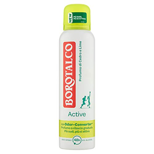 Borotalco Deodorante Spray Active Giallo - 150 ml
