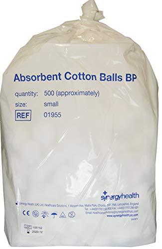 Synergy Health Vc01955 - Confezione da 500 palline di cotone