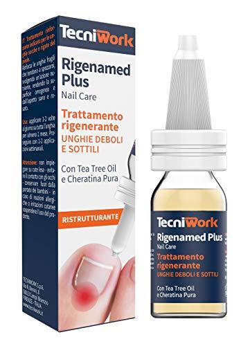 Rigenamed Plus 15 ml - Trattamento rigenerante per unghie deboli e sottili