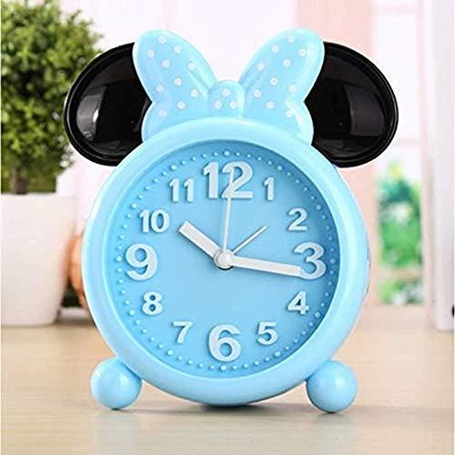 Odnryx Sveglia di Topolino Minnie Mouse Sveglia Creativa Sveglia da Comodino necessità quotidiane Sveglia Domestica