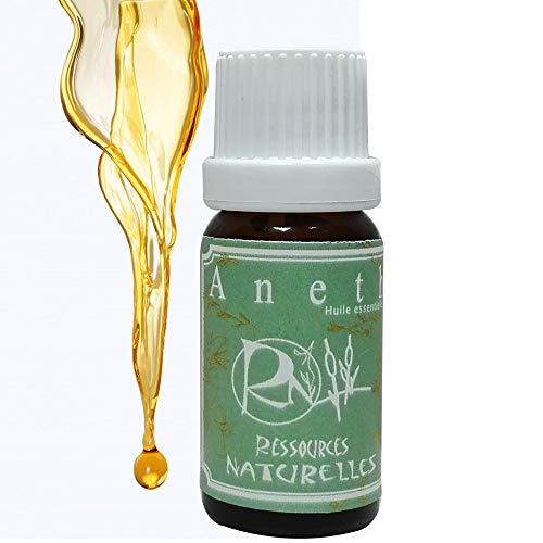 Ressources Naturelles Olio Essenziale Di Aneto Biologico - 10 Ml
