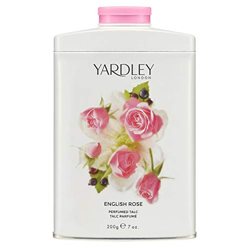 YARDLEY inglese Eau de Toilette Rose Talco 200g