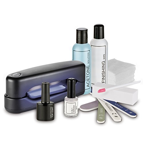 MACOM Sensation 205 Semipermanent Gel UV Nails Kit Completo per l' Applicazione del Gel Semipermanente