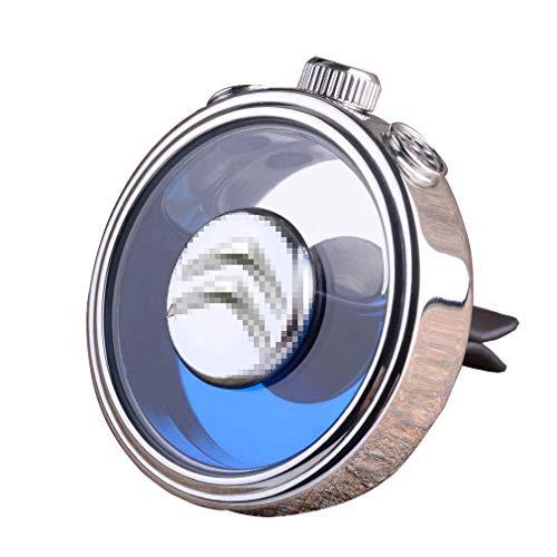 F.S Auto Logo Deodorante Vent Clip Fragranza Profumo Deodorante per Auto Accessori con Confezione Regalo (Bicchiere, C-ITROEN)