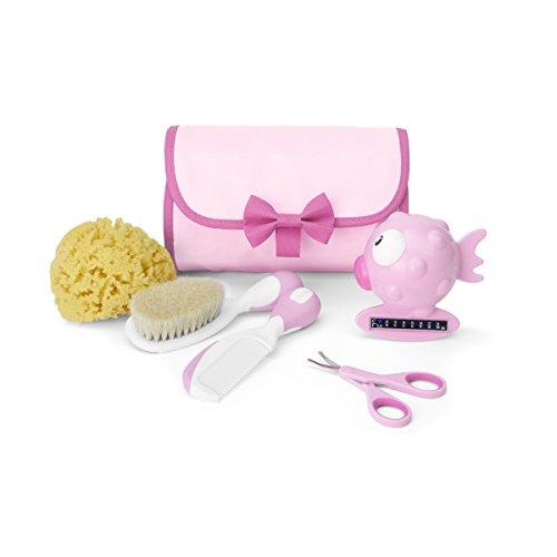 Chicco Set Igiene per Cura dei Bambini, Rosa