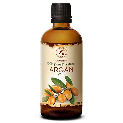 Olio di Argan 100ml - Argania Spinosa - Marocco - 100% Naturale e Puro - Olio di Base - Cura per Viso - Corpo - Capelli - Ottimo Con Olio Essenziale - Aromaterapia - Relax - Massaggi - Cosmetici