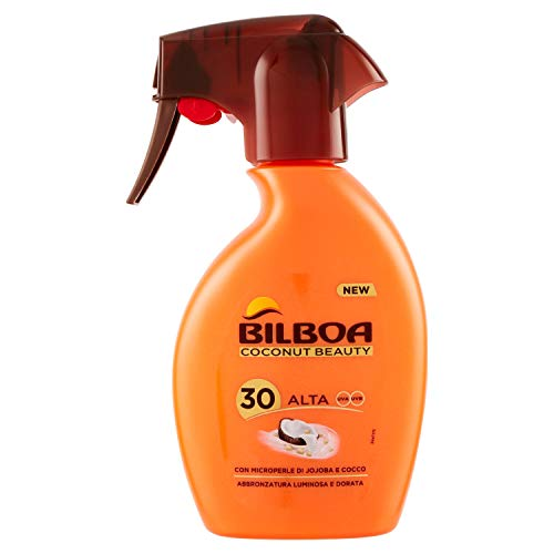 Bilboa Coconut Beauty Spray Solare Trigger Spf 30-250 Ml