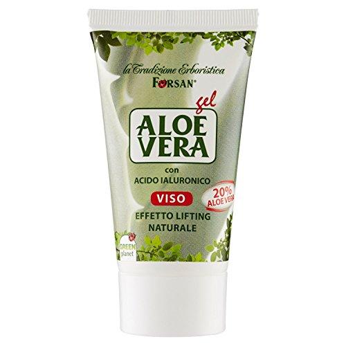 La Tradizione Erboristica Forsan - Crema Gel Aloe Vera Viso - Effetto Lifting Naturale - 50 ml