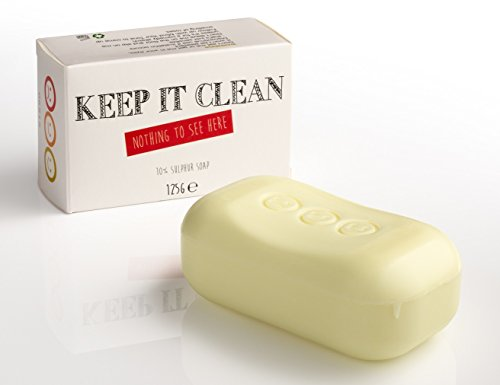 Whytheface, Keep it Clean, saponetta di zolfo (10%)