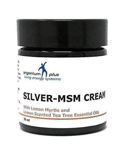 La crema Argento-MSM con olii essenziali di limone mirto e albero di tè al limone - 30 ml