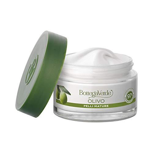 Bottega Verde crema viso OLIVO pelli mature, con olio d'Oliva di Tenuta Massaini (50 ml) - pelle nutrita e piu compatta