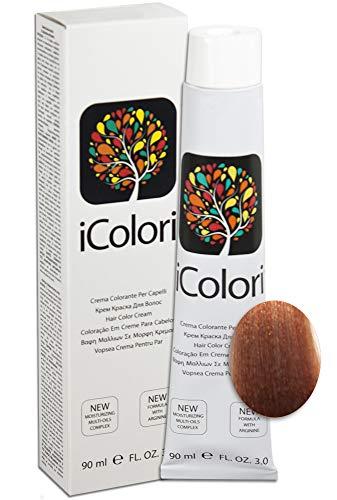 iColori - Crema Colorante Per Capelli 90 ml - 9.34 - Biondo Chiarissimo Oro Ramato