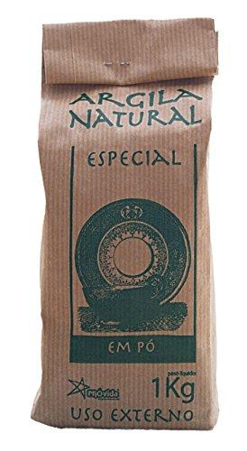 Provida Argila Natural Em Po 1kg Argilla Verde Illite