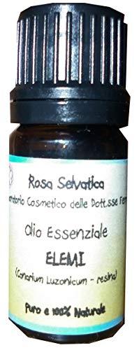 Olio essenziale puro di Elemi - mucolitico, cicatrizzante, antisettico