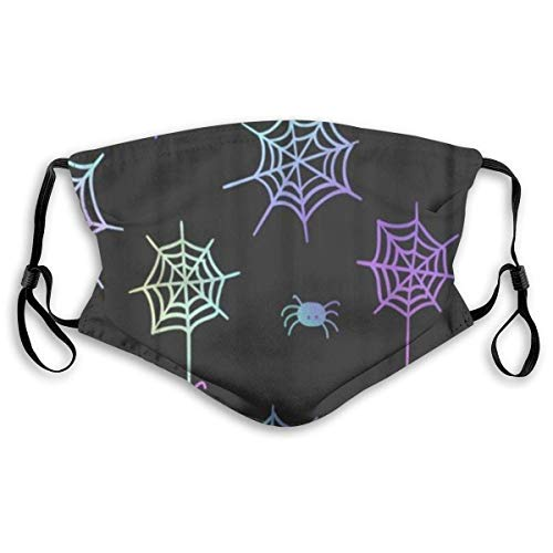 Sciarpa Per Il Viso Face Decorations reusable Cute On Pastel Go-th Great for Halloween Party and Flyers Greeting Picture Balaclava Reusable Mouth Bandanas