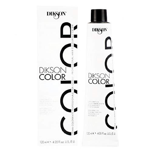Dikson Color - Crema colorante professionale ad ossidazione per capelli con proteine ed estratti vegetali, 4.4 Castano Rame (120 ML)