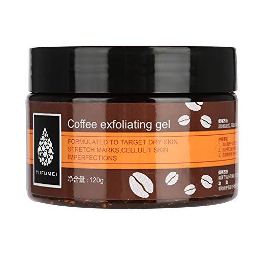 Caffè esfoliante scrub crema viso mani piedi dispositivo di rimozione pelle morta idratante levigante pulisce i pori 120 g
