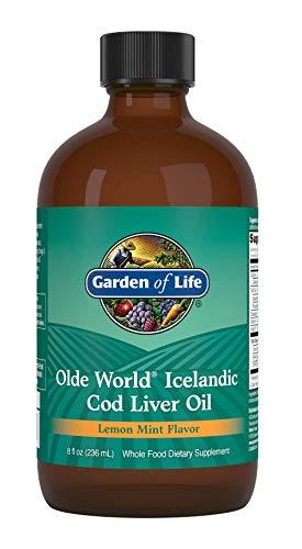 Garden Of Life Olde World, Olio Di Fegato Di Merluzzo Islandese, Menta Al Limone - 236 ml