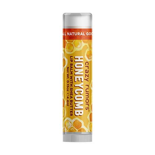 Crazy Rumors, Lip Balm with Shea Butter, Honeycomb, 0.15 oz (4.4 ml)