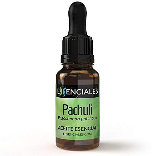 Essenciales – Olio Essenziale di Patchouli, 100% Puro e Naturale, 10 ml | Olio Essenziale di Pogostemon Cablin