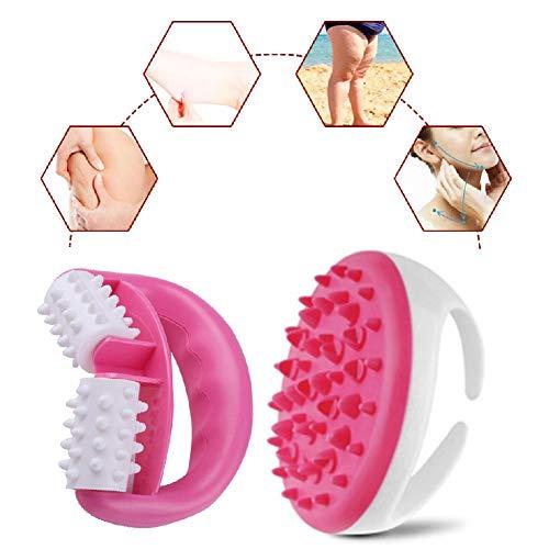 Massaggiatore anticellulite, Anticellulite Massaggiatore, Set Trattamento Anti Cellulite Con Rullo Massaggiante Cellulite-2PCS