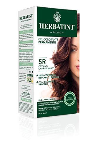 Herbatint Gel Colorante Permanente 5R Castano Chiaro Ramato 150ml