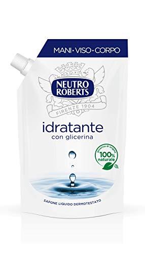 Neutro Roberts R906986 Sapone Liquido Ecopouch Idratante -400 Ml