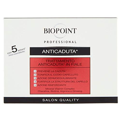 BIOPOINT Tratamento Capeli Anticaduta in fiale - 10 fiale x 7 ml.